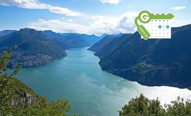 Hotel Ristorante Grotto Bagat - Lavena Ponte Tresa: Lago di Lugano: camera doppia o matrimoniale con colazione all'Hotel Ristorante Grotto Bagat