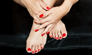 Bellano: Stylizacja hybrydowa: manicure (34,99 zł) z pedicure (79,99 zł) i więcej opcji w Bellano w Katowicach (do -50%)