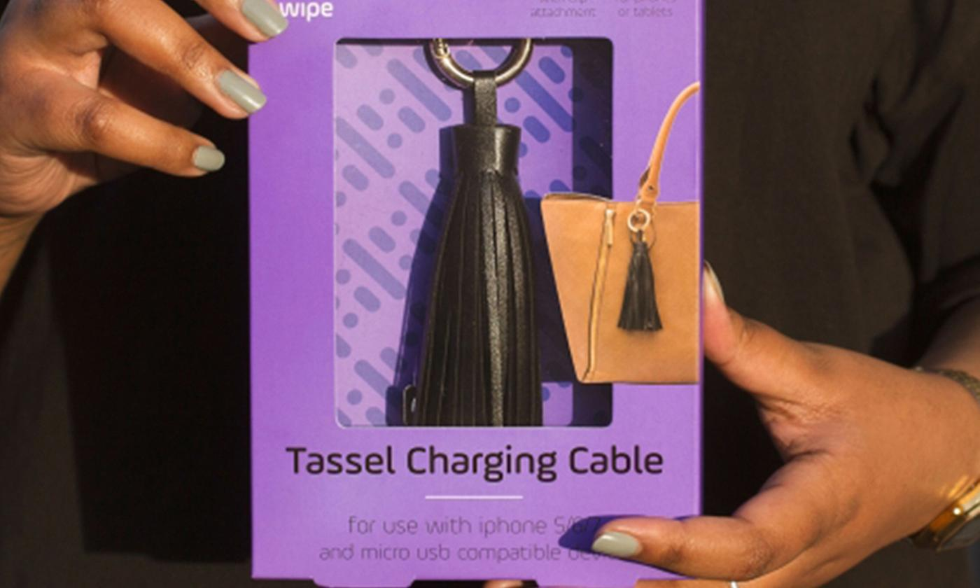 One or Two Thumbs Up UK Tassel Charging Cables