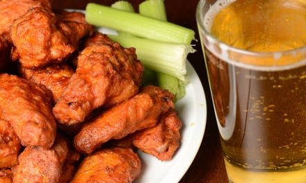 Pub Fare at Dockside Pub (Up to 40% Off). Two Options Available.