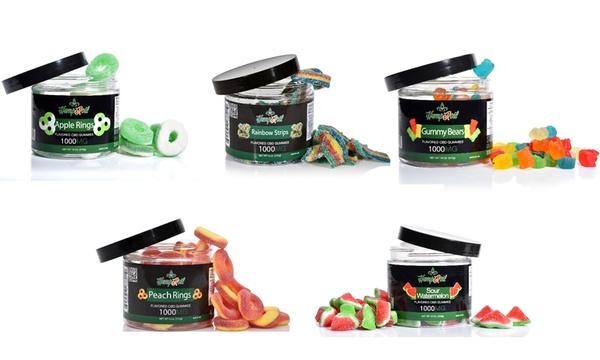 Hemproil CBD Gummies (250mg, 500mg, 750mg or 1000mg)