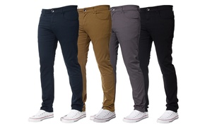 (SoldesModeHomme) Pantalon Chino Slim -46% réduction