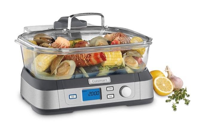 Cuisinart Vegetable Steamer ~ Cuisinart digital food steamer groupon goods