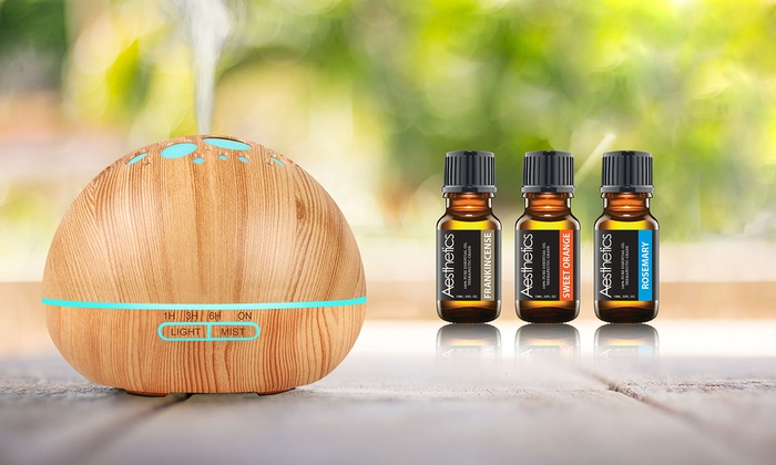 Diffuser and Oil Set (9-Pack) | Groupon Goods