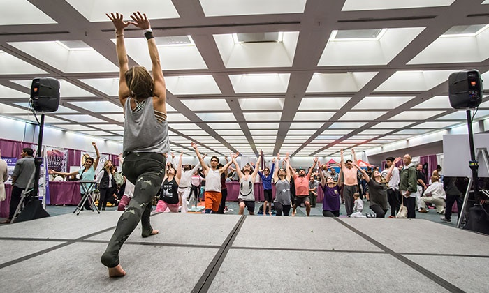 The Yoga Expo - Broward County Convention Center: The Yoga Expo 2016 on Saturday, April 16, at 10 a.m.