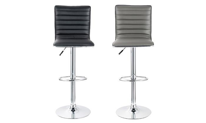 lot de tabourets de bar groupon. Black Bedroom Furniture Sets. Home Design Ideas