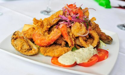 image for Latin American Dining for Two or Four at La Fonda De Maria Restaurant (Up to 64% Off)