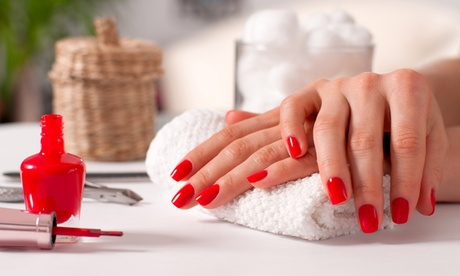 Manicure and Pedicure Services at Beauty by Laura (Up to 40% Off). Four Options Available.