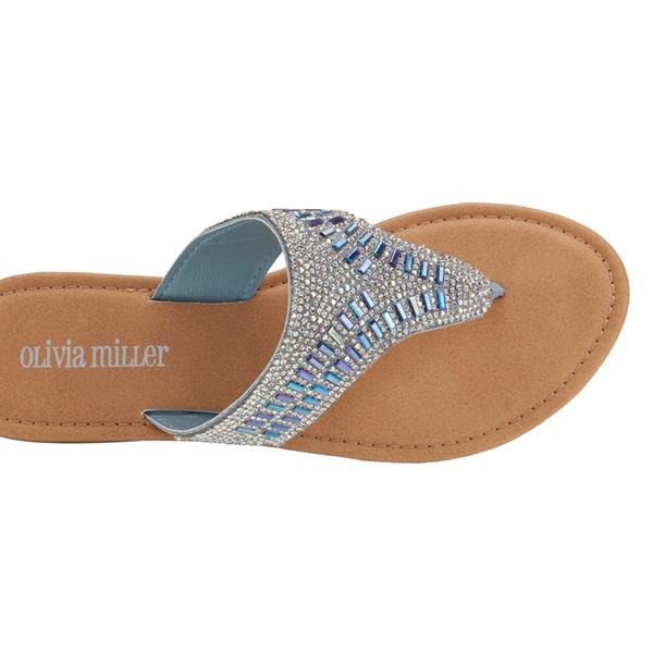 b3689adf1999 Olivia Miller Women s M2M Embellished Sandals