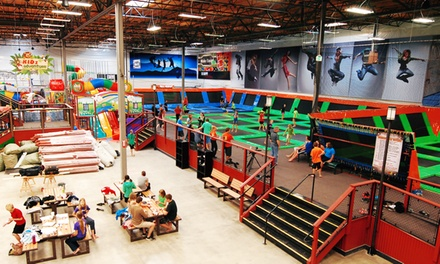 Two-Hour Jump, Play, or Combo Activities for One or Two at Elevated Sportz (Up to 37% Off)