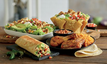 25% Cash Back at El Pollo Loco