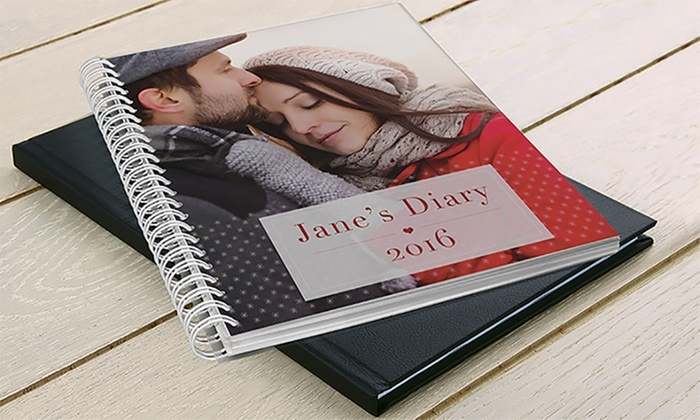 Custom 8x6, 108-Page Daily Planners from Printerpix