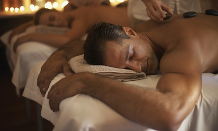 Hot Stone Massage Pamper Package for One $69 or Two People $135 at Luxe on Kensington Up to $320 Value