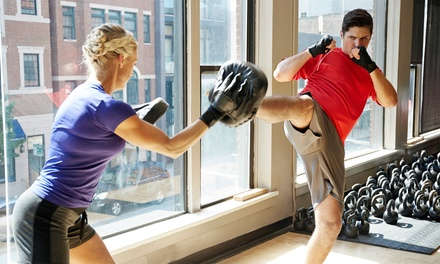 One Month of Muay Thai, Brazilian Jiu Jitsu, or Tae Kwondo at The DoJANG World Training Center (Up to 77% Off)