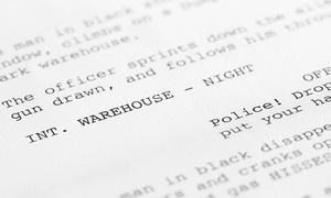 $39 For An Online Screenwriting Certification Course From Writing Academy ($299 Value)
