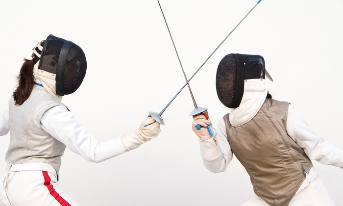 M Team Fencing So Cal - Anaheim Hills: Four or Eight 60-Minute Introductory Fencing Classes with Equipment at M Team Fencing So Cal (Up to 86% Off)