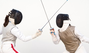M Team Fencing So Cal: Four or Eight 60-Minute Introductory Fencing Classes with Equipment at M Team Fencing So Cal (Up to 82% Off)