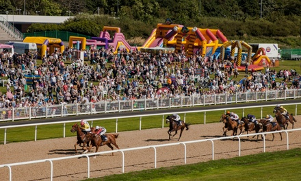 Good Friday Family Raceday Ticket for Family of Four at Newcastle Racecourse on 30 March