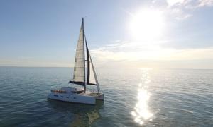 Aldabra Yacht Charter: Sortie en catamaran de 2h ou 2h30 pour 2 personnes à La Rochelle dès 45 € avec Aldabra Yacht Charter