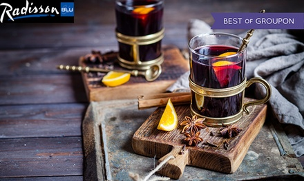 Afternoon Tea for Two with Optional Mulled Wine at The White Bar at Radisson Blu Liverpool (Up to 43% Off)