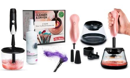Kit di pulizia per pennelli e pennelli per il trucco Envie disponibile in 2 colori e con o senza spray