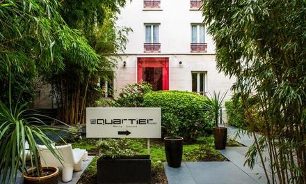 Parijs: Comfort tweepersoonskamer voor twee, naar keuze met ontbijt in Hotel Le Quartier Bercy Square