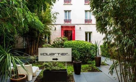 París: habitación doble confort para 2 personas con opción a desayuno y copa de vino en Hotel Le Quartier Bercy Square