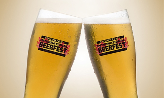 Edmonton International BeerFest - Shaw Conference Centre: Edmonton International BeerFest with Sampling Mug and Tasting Guide for One or Two on April 26 or 27 (Up to 53% Off)