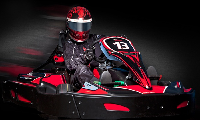 Octane Raceway - Scottsdale: Two or Four Kart Races with Day License for One or Two at Octane Raceway (Up to 53% Off)