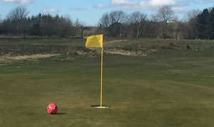 9 Holes of Foot-Golf at Brechin Golf Club: Nine Holes of Footgolf for Up to Four at Brechin Golf Club