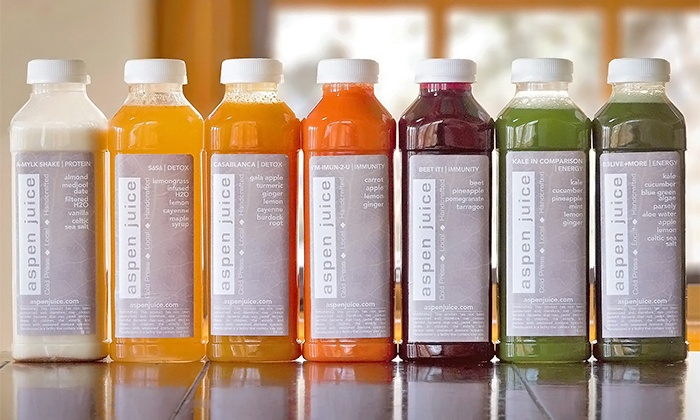 Aspen Juice - Cherry Creek: One- or Three-Day Standard Juice Cleanse from Aspen Juice Bar (Up to 26% Off)