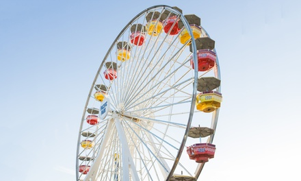 $25 for Unlimited Ride Wristband and $5 Game Card at Pacific Park ($37.95 Value)