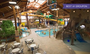 Lake Geneva Water-Park Resort with Daily Park Passes at Timber Ridge Lodge & Waterpark, plus 6.0% Cash Back from Ebates.