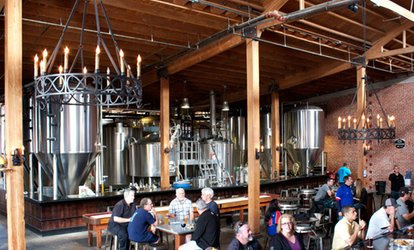 Up to 48% Off a Brewery Tour