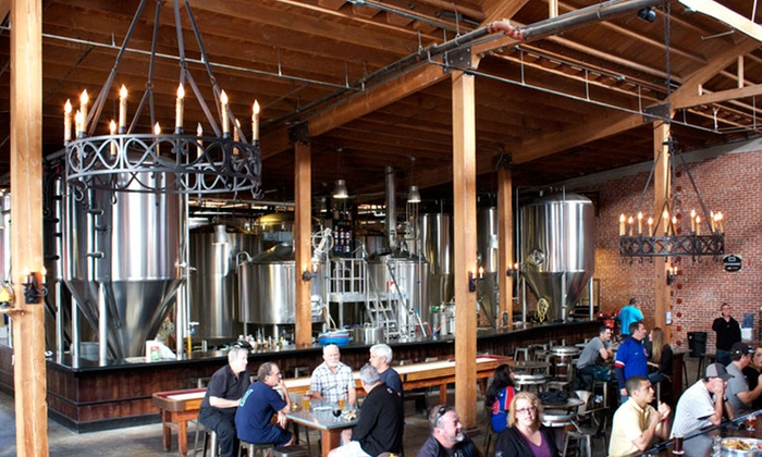 Mission Brewery - East Village: Brewery Tour for Two, Four, or Eight with Pint Glasses at Mission Brewery (Up to 49% Off)