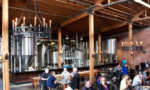 Mission Brewery: Brewery Tour for Two, Four, or Eight with Pint Glasses at Mission Brewery (Up to 43% Off)