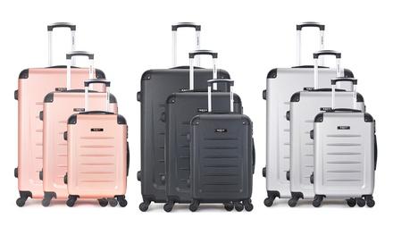 Bluestar Three-Piece Luggage Set