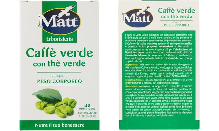 tè verde nella dieta gmb