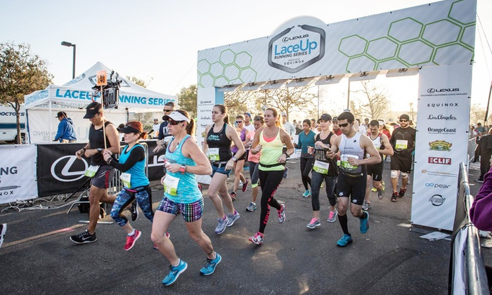 Laceup Running Series - Mike Ward Community Park: LaceUp Running Series 5K Entry for One or Two with Brunch on Saturday, October 17 (Up to 45% Off)