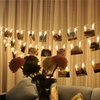 String of LED Peg Clip Lights