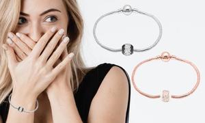 (Bijou)  Bracelet céramique orné de cristaux Swarovski® -91% réduction