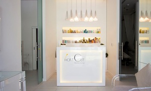 Short Cut Beauty Lounge: Moroccan Bath with Optional Blow-Dry, Turkish Soap Spa Treatment or Both at Short Cut Beauty Lounge