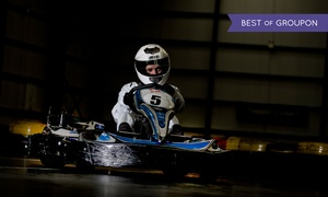 Kartmania: 25-Minute Karting for One, Two or Four or Twin Karting for an Adult and a Child at Kartmania (Up to 59% Off)