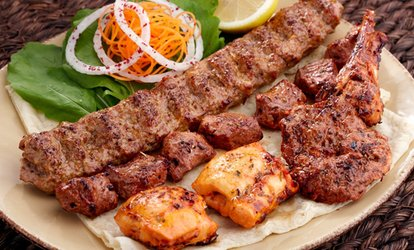 Mediterranean Food for Dine-In, Delivery, or Takeout at Alibaba (Up to 38% Off)