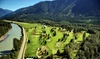 The Meadows at Pemberton - The Meadows at Pemberton: 18 Holes of Golf With Cart for Two or Four at The Meadows at Pemberton (Up to 45% Off). Four Options Available.