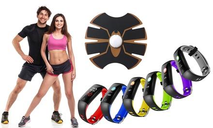 Electroestimulador abdominal y/o pulsera deportiva