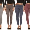 Coco Limon Women's Fleece-Lined Leggings (5-Pack)