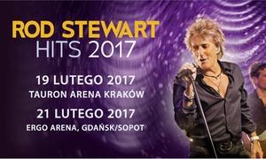 Rod Stewart Hits: 99 zł: Szczęśliwy Bilet na wyjątkowy koncert Roda Stewarta w Krakowie lub Gdańsku (do -86%)
