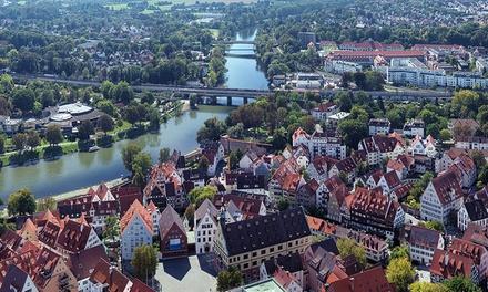 Ulm: 2 bis 4 Tage für max. 4 Pers. inkl. Frühstück, Gutschein für Café Josi an der Donau u. WiFi im EconoMy-Hotel Ulm