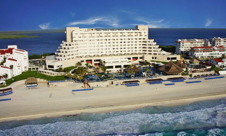 Groupon Deal: 3-, 4-, or 5-Night All-Inclusive Stay for Two at Royal Solaris Cancun in Mexico. Includes Taxes and Hotel Fees.